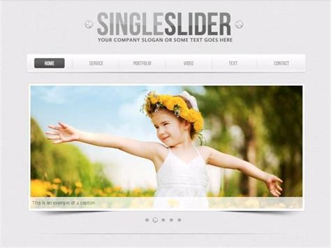 Web Page Slider Templates 50 High Quality Free And Premium Content Slider Psd Filescreative Can