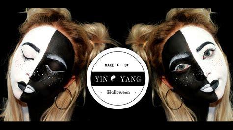 tutorial makeup halloween yang mudah yin yang makeup tutorial halloween2016 cinzikoalina