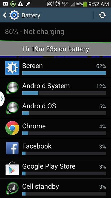 reset android battery statistics how to reset battery stats android forums at