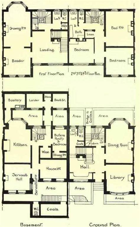 large house blueprints square floor plans floors and squares on pinterest