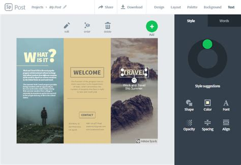8 Best Free Online Brochure Maker Websites Travel Brochure Maker