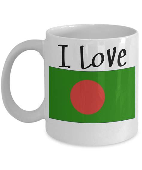 mug design bangladesh i love bangladesh coffee mug with a flag