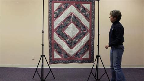 Quilt Display Stands by Craftgard How To Set Up A Quilt Display Stand On Vimeo