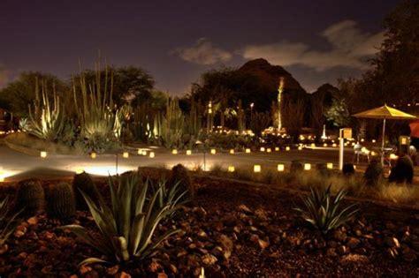 Desert Botanical Garden Luminaria Las Noches De Las Luminarias At Desert Botanical Garden