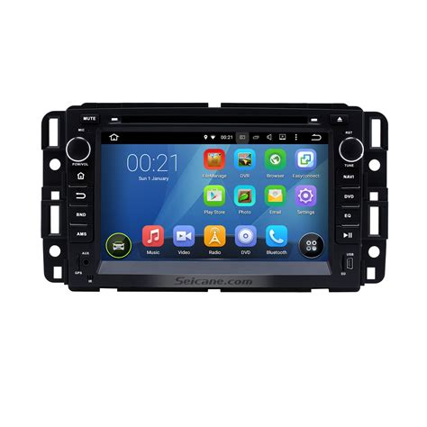 gmc tahoe 2012 2007 2012 gmc tahoe android 5 1 1 gps navigation system