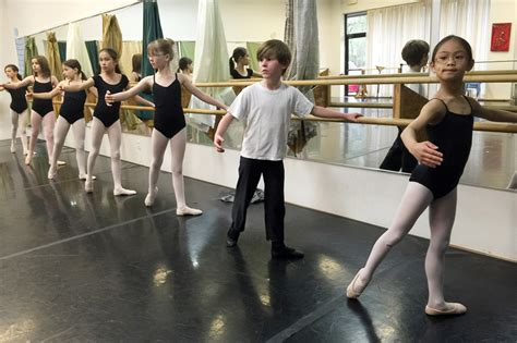 Ballet Programs Look For More Boys To Step Up To The Barre Ncpr News
