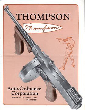 thompson and catalog auto ordnance corp vintage gun catalogs