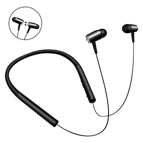 Earphone Bluetooth Dengan Neckband Magnetic kimitech bluetooth v4 1 magnetic headphones neckband design wireless and wired twistable