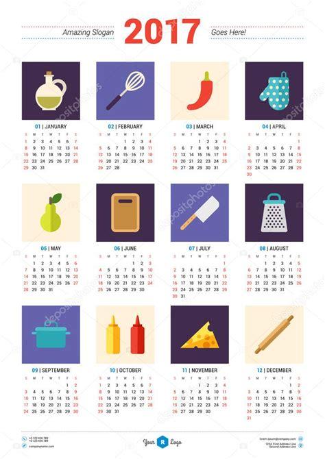 design calendar in html calendar design template for 2017 year week starts monday