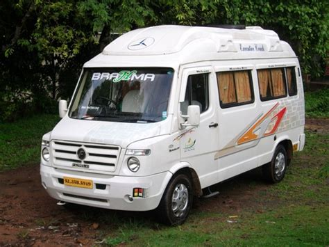 tempo traveller kerala  packages vehicles  rent  cochin ernakulam clickin