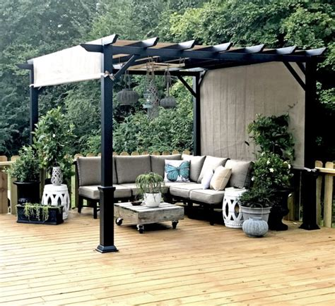 ground pool deck makeover hometalk