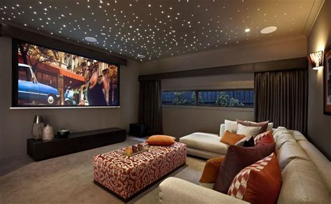 media room ceiling lighting top cave ideas inspiration