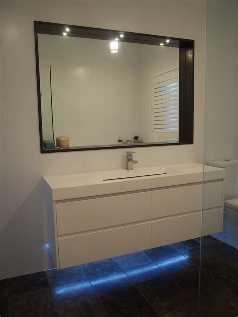 led strip lights for bathroom mirrors bathroom lighting led recessed mirror lights under
