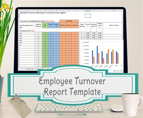 Employee Turnover Report Template Turnover Report Template