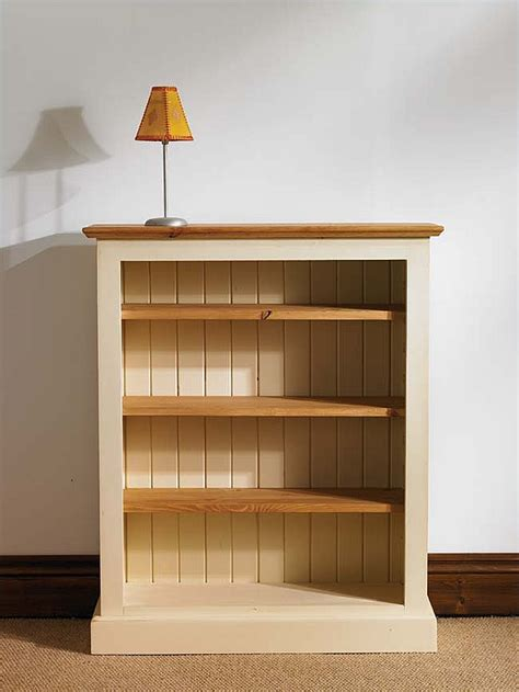 mottisfont painted pine large bookcase