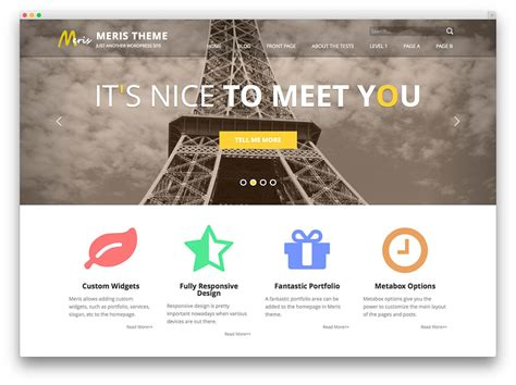 list themes for wordpress 50 best free responsive wordpress themes 2017 colorlib