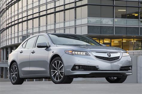 2016 acura tlx features review the car connection