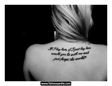 creative tattoo quotes tumblr quote tattoos tumblr tattoospedia