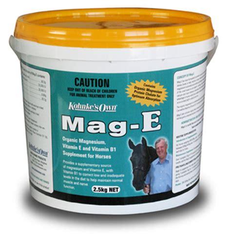 s e supplement kohnke s own mag e supplement feed supplements