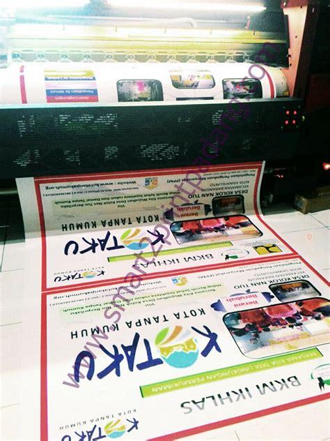 Stiker Ritrama Outdoor cetak stiker