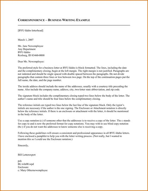 The Business Letter Pdf 10 How To Write A Business Letter Pdf Lease Template