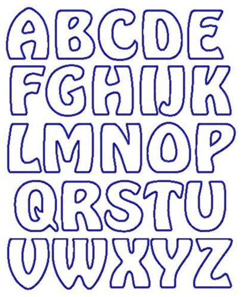 applique letters template 25 best ideas about alphabet templates on