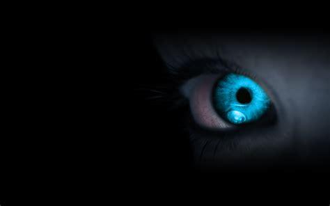 Wallpeper eyes blue eyes black background wallpapers