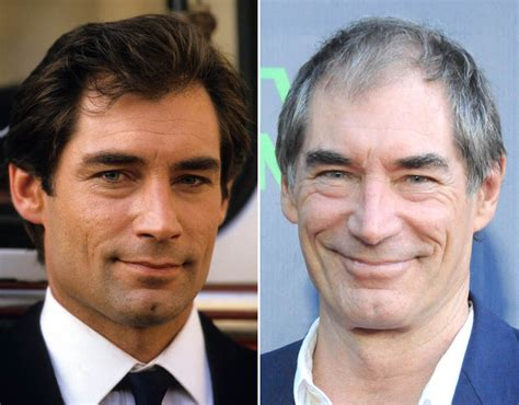 timothy dalton now and then timothy dalton celebrity heartthrobs hotter then or now