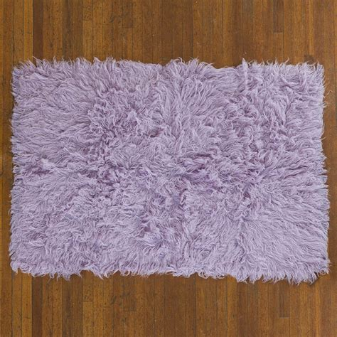 purple flokati rug flokati rug 1400g m2 140x200cm purple 2 pashmina pashminas co uk