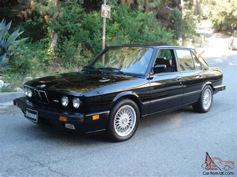1988 Bmw M5 For Sale by 1988 Bmw M5 Low Collector Classic Car E28 California Car