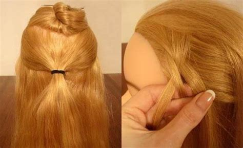 Diy Braided Hairstyles by Cool Creativity Diy Delicate Braided Hairstyle