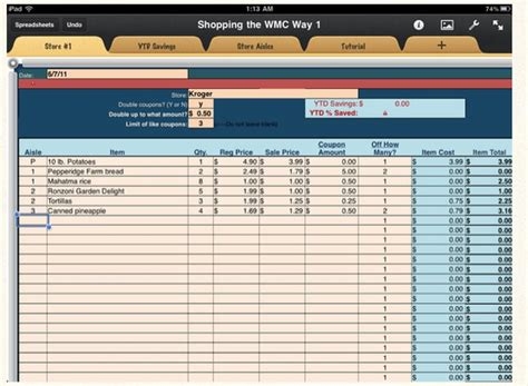 Ncaa Soccer Recruiting Spreadsheet by 3 99 Numbers Or Excel Grocery Couponing Spreadsheet Via