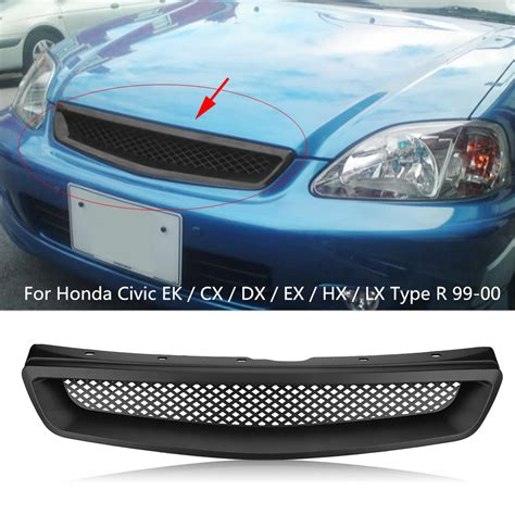 Car Grille Types by Car Front Mesh Grill Grille For Honda Civic Ek Cx Dx