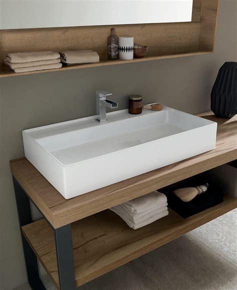 mobili per lavandino bagno mobile a terra per bagno con lavandino ad appoggio nuovo