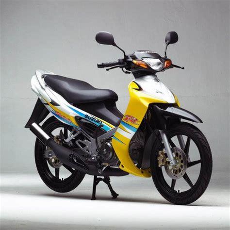 Knalpot Racing Satria R 120 2 Tak Stainlis satria ru 120 r lebih cepat dari bayangan nakawara s the masked rider