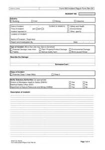 near miss incident report template form 006 incident report form