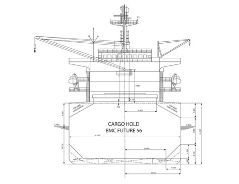 sections of a boat ics
