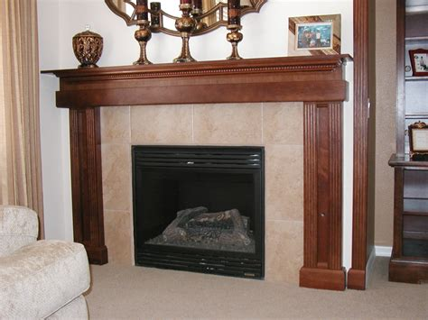 fireplace mantel design ideas amazing modern style wooden frame fireplace mantel ideas