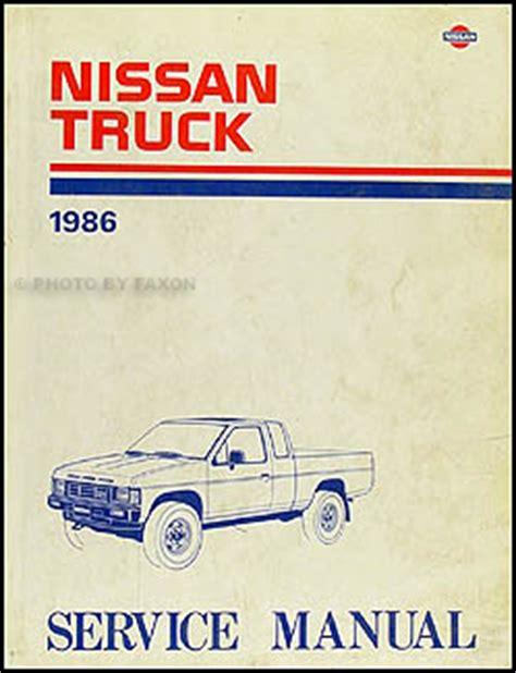 1986 Nissan 720 Truck Repair Shop Manual Original