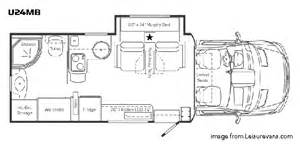 Winnebago View Floor Plans the best small rv s living large in a small space
