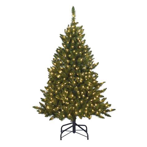 decorative pine trees shop living 4 5 indoor outdoor scotch pine
