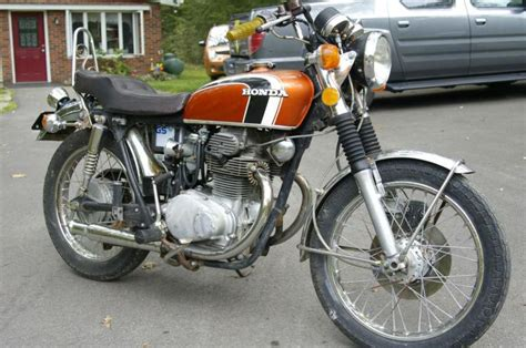 buy 1973 honda cb 350 patina mild kustom on 2040motos
