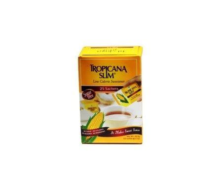 Tropicana Slim Sweetener Lemon 25 S tropicana slim zero calorie sweetener 50 sticks tonyson