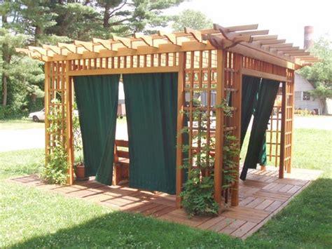 outdoor pergola curtains garden room pergola 8 top outdoor curtains for pergola
