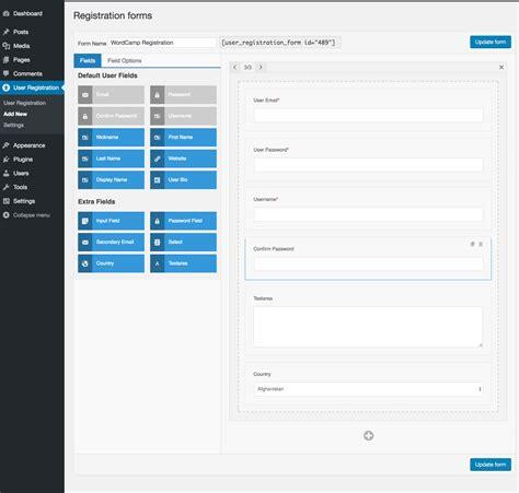 wordpress tutorial user registration how to create a beautiful wordpress user registration form