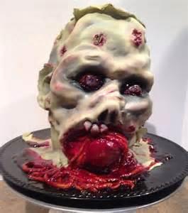 zombie dessert cake ideas and designs