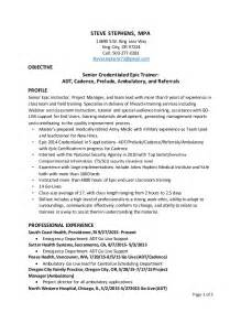 Emr Trainer Cover Letter by Emr Trainer Resume Ebook Database