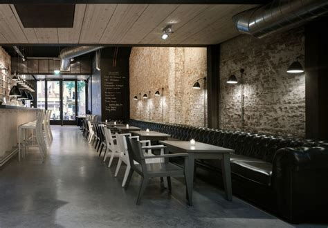 Interior Leather Bar Free by Mazzo Design By Concrete Architectural Associates