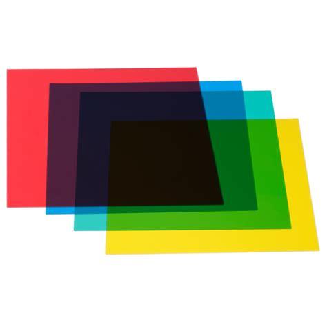 neewer 12 x 12 30 x 30cm color correction gels set 4