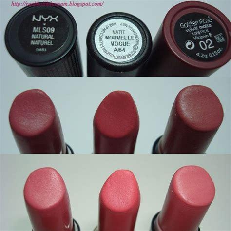 A Matte Lipstick 804 nyx matte lipstick ruj no 09 mac nouvelle vogue mat